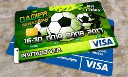 Invitacion Tarjeta PVC Personalizada