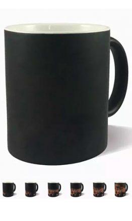 Taza Magica Negra 11oz Personalizada