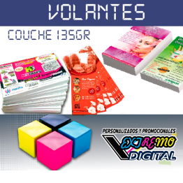 Volantes Flyer a Todo Color Couche