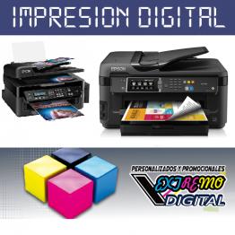 Impresión Digital InkJet