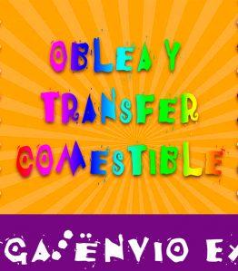 Oblea y Transfer Comestible Personalizado