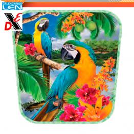 Abanico Plastico Efecto Especial 3D LEN 25pz