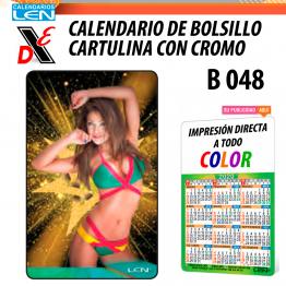 25pz Calendario de Bolsillo Serie B