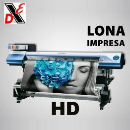 Lona Impresa HD Mayoreo $ 60m2