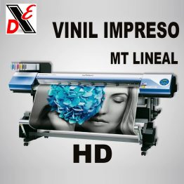 Vinil Impreso HD mt Lineal x1.50m